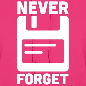 Never Forget Floppy Disk  Hoodies - Women's Hoodie