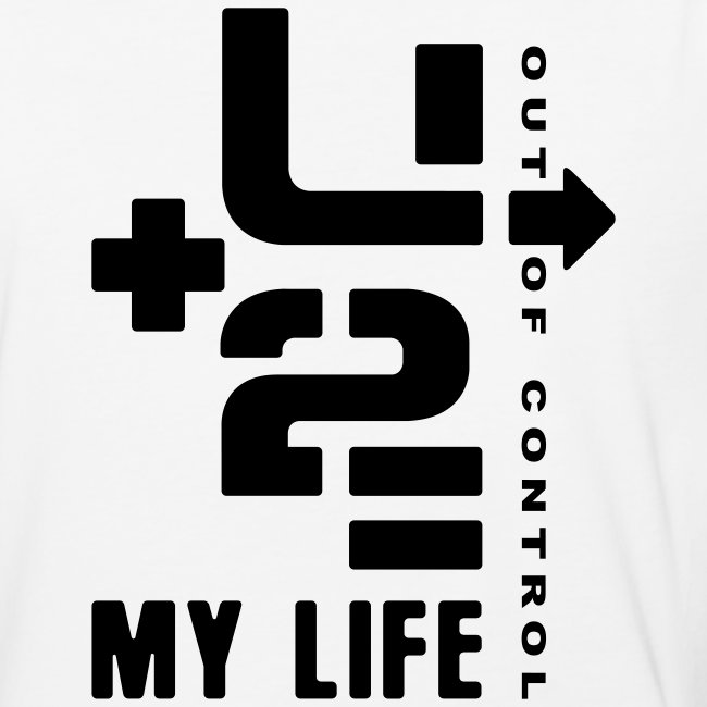 U+2=MY LIFE - front print - s/xxl