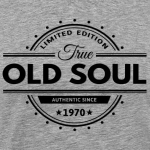 Birthday 1970 Old Soul Vintage Classic Edition - Men's Premium T-Shirt