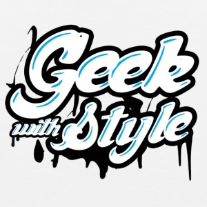 geek with style  Tank Tops - Men's Premium Tank