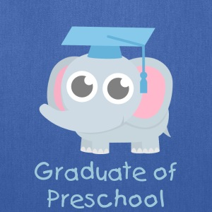 Cute Elephant Graduate Bags & backpacks - Tote Bag