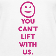 Design ~ You can lift with us | Womens tank