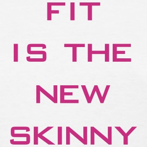 The New Skinny Gym Motivation Women's T-Shirts - Women's T-Shirt