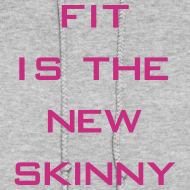 Design ~ Fit is the new skinny | Womens hoodie