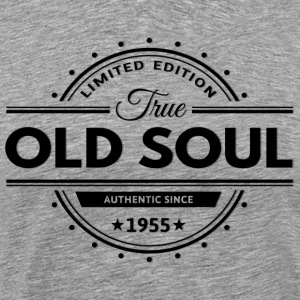 Birthday 1955 Old Soul Vintage Classic Edition - Men's Premium T-Shirt