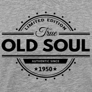 Birthday 1950 Old Soul Vintage Classic Edition - Men's Premium T-Shirt