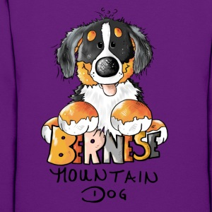 Cute Bernese Mountain Dog  Hoodies - Women's Hoodie