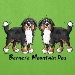 Two Bernese Mountain Dogs Bags & backpacks - Tote Bag