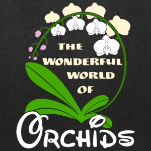 The Wonderful World of Orchids - Tote Bag