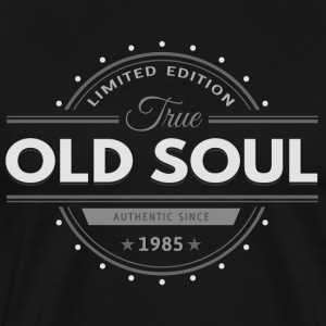 Birthday 1985 Old Soul Vintage Classic Edition - Men's Premium T-Shirt