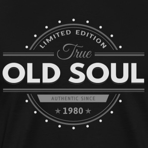 Birthday 1980 Old Soul Vintage Classic Edition - Men's Premium T-Shirt