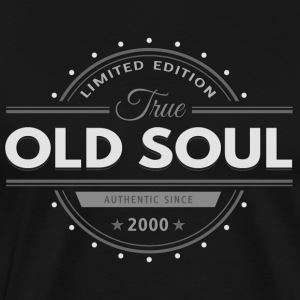 Birthday 2000 Old Soul Vintage Classic Edition - Men's Premium T-Shirt