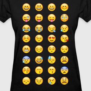 emoticones - Women's T-Shirt