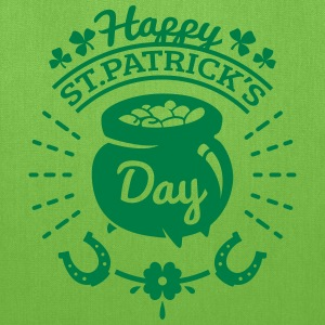 St Patricks Day Gold Pot Bags & backpacks - Tote Bag