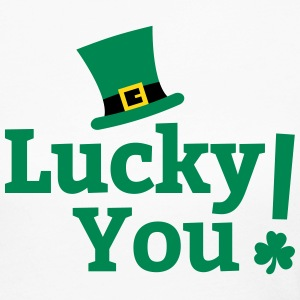 Lucky You St Patricks Day Long Sleeve Shirts - Women's Long Sleeve Jersey T-Shirt
