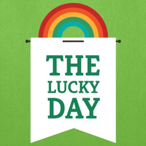 Lucky You - Rainbow Pennant Bags & backpacks - Tote Bag
