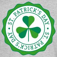 Design ~ Lucky Shamrock Badge - St. Patrick's Day