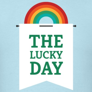 Lucky You - Rainbow Pennant T-Shirts - Men's T-Shirt