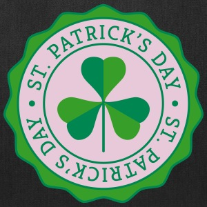 Lucky Shamrock Badge - St. Patrick's Day Bags & backpacks - Tote Bag