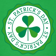 Design ~ Lucky Shamrock Badge - St. Patrick's Day