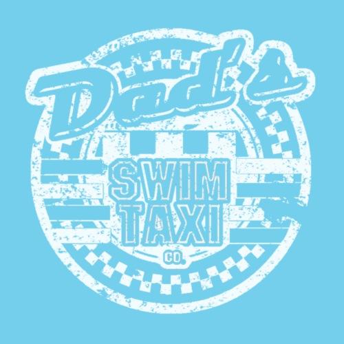 Dad's Swim Taxi-- Vintage look