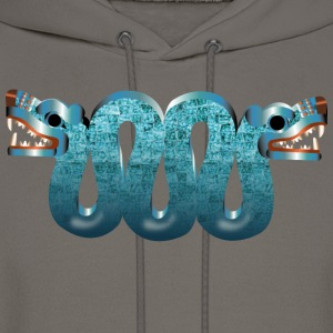 Aztec double headed serpent Hoodies - Men's Hoodie