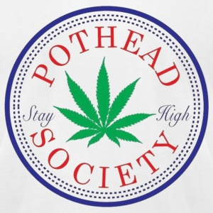 Pothead Society T-Shirts - Men's T-Shirt by American Apparel