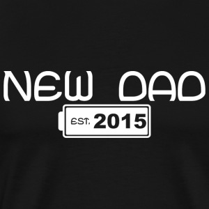New Dad 2015 - Men's Premium T-Shirt