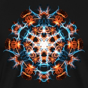 Power Symbol, Fractal Art, Energy, Hero, Superhero T-Shirts - Men's Premium T-Shirt