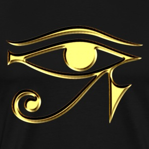 Eye of Horus - symbol protection & healing I T-Shi - Men's Premium T-Shirt