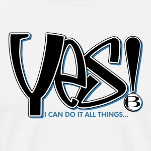 Yes Men's T - Men's Premium T-Shirt