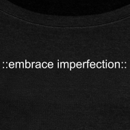 Design ~ ::embrace imperfection:: Women's Off Shoulder Sweatshirt