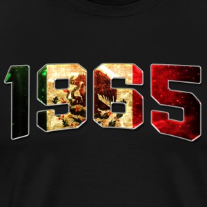 Birthday 1965 Mexican Flag Vintage Classic Edition - Men's Premium T-Shirt