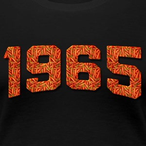Birthday 1965 Mexican Hot Pepper Vintage Classic - Women's Premium T-Shirt