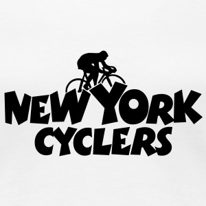 New York Cyclers T-Shirt (Women) - Women's Premium T-Shirt
