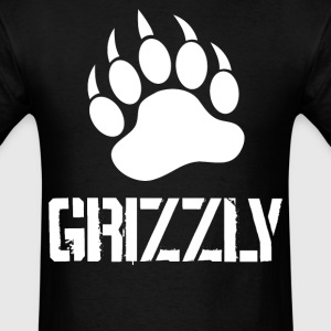 Grizzly Paw … white - Men's T-Shirt