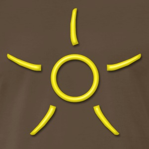SOOL - Symbols of Antares - Power of the absolute extension, yellow,  T-Shirts - Men's Premium T-Shirt