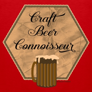 Craft Beer Connoisseur Tank Tops - Men's Premium Tank
