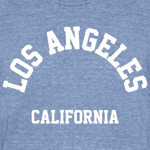Los Angeles California - Unisex Tri-Blend T-Shirt by American Apparel