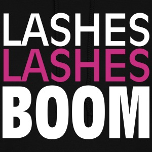 Lashes Lashes Boom - Women's Hoodie