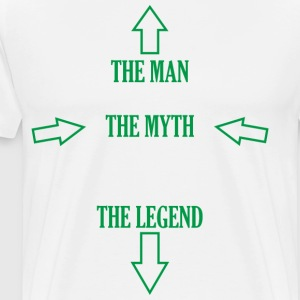 The Man, The Myth, The Legend - Men's Premium T-Shirt