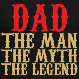 Dad - The Legend - Men's Premium T-Shirt