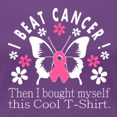 Cool I Beat Cancer Tee