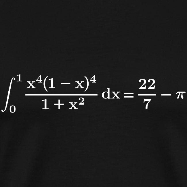 22/7-pi integral