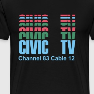 Civic TV – Videodrome - Men's Premium T-Shirt
