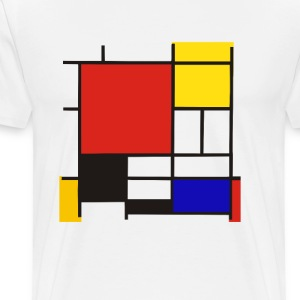 Mondrian - Men's Premium T-Shirt