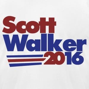 Scott walker 2016 - Men's T-Shirt by American Apparel