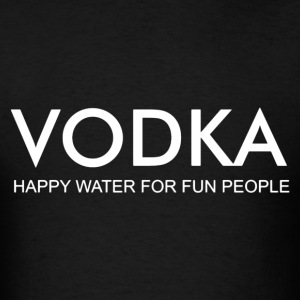 vodka happy water - Men's T-Shirt