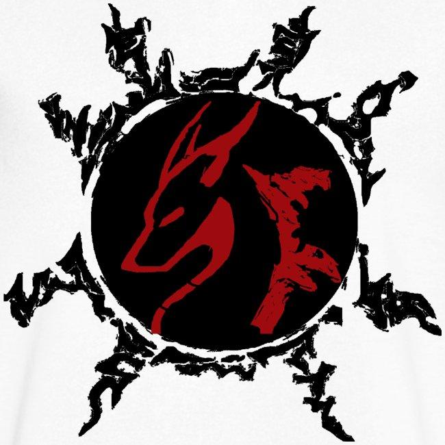Classic SF K1 RED  V-neck T-Shirt for Men