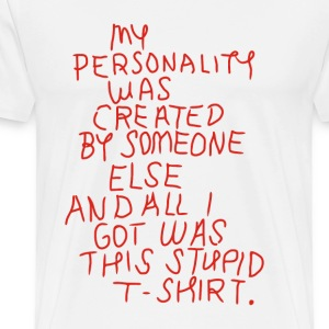 Beginners – Stupid  - Men's Premium T-Shirt